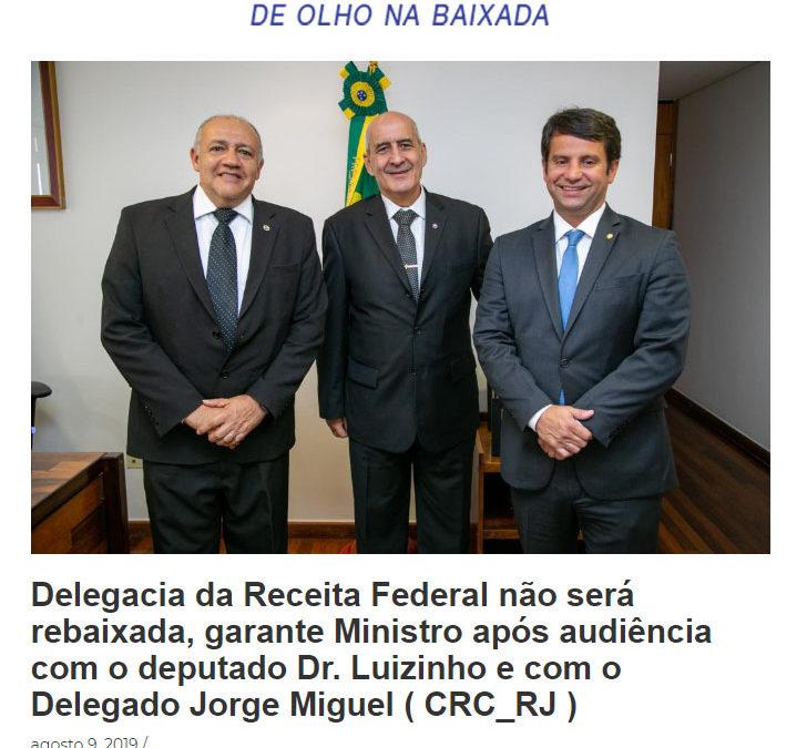 Delegacia da Receita Federal não será rebaixada – Nova Iguassu Online