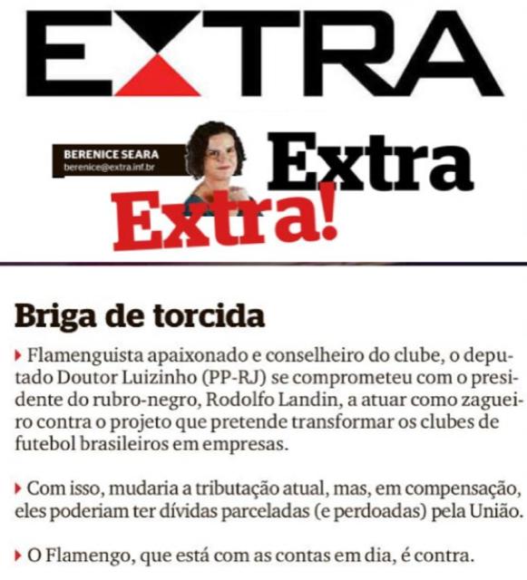 Coluna Extra, Extra