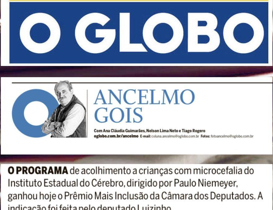 Ancelmo Gois- Prêmio IEC