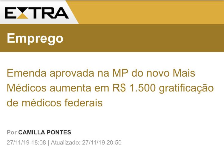 Coluna Servidor – Emenda de Dr. Luizinho aprovada
