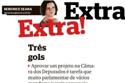 Extra: Berenice Seara – Três Gols