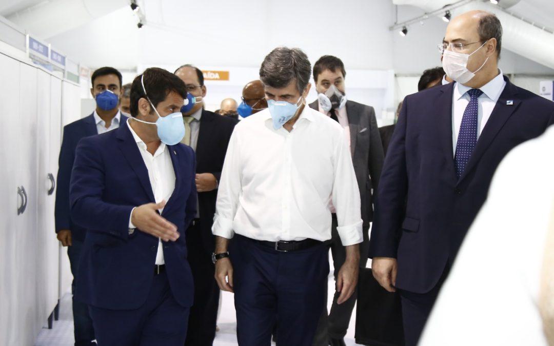 ESTADO SE COMPROMETE A ENTREGAR HOSPITAL DE CAMPANHA DE NOVA IGUAÇU NO DOMINGO