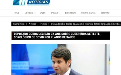 DEPUTADO COBRA DECISÃO DA ANS SOBRE COBERTURA DE TESTE SOROLÓGICO DE COVID POR PLANOS DE SAÚDE