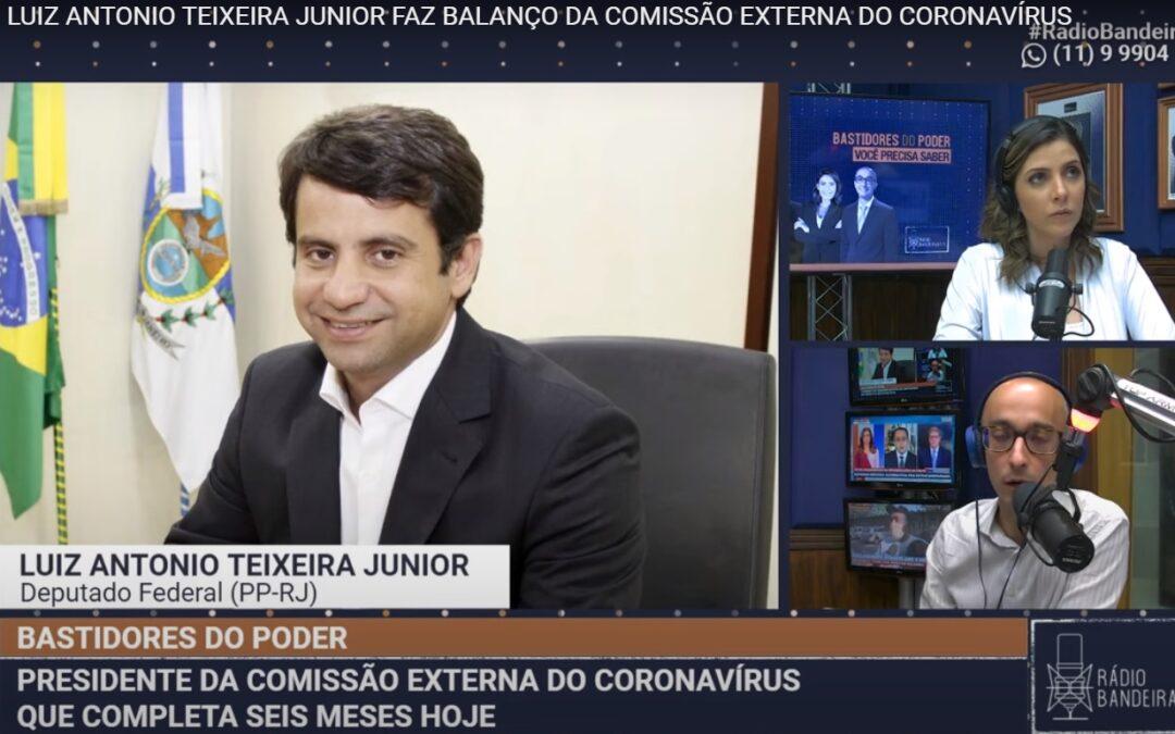 Balanço dos 6 meses da Comissão Externa do Coronavírus