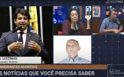 Entrevista à Rádio Bandeirantes sobre a Lei Covid