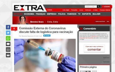 Comissão Externa do Coronavírus discute falta de logística para vacinação