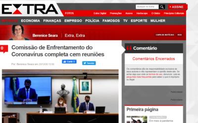 Comissão de Enfrentamento do Coronavírus completa cem reuniões