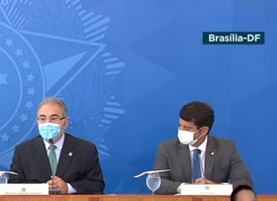DOUTOR LUIZINHO PARTICIPA COM BOLSONARO DE REUNIÃO DO COMITÊ DE COORDENAÇÃO DO CORONAVÍRUS