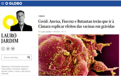 Covid: Anvisa, Fiocruz e Butantan terão que ir à Câmara explicar efeitos das vacinas em grávidas